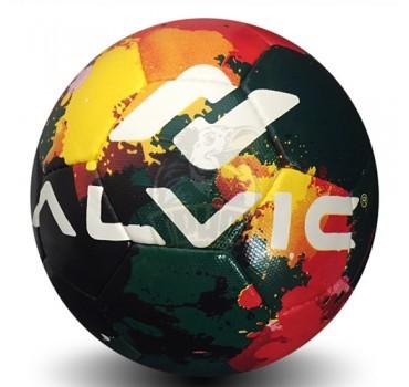 Мяч футбольный любительский Alvic Street Party №5 (зеленый)