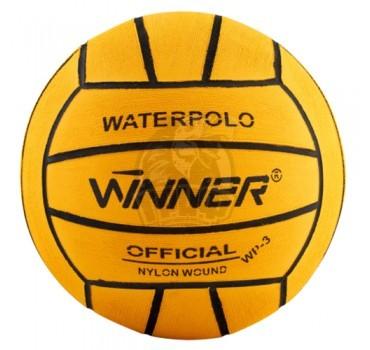 Мяч для водного поло тренировочный Winner №5 (желтый)