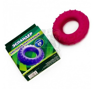 Эспандер кистевой кольцо с шипами 35 кг