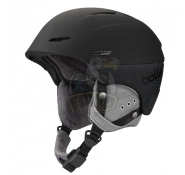 Шлем Bolle Millenium 309 Soft Black & Grey