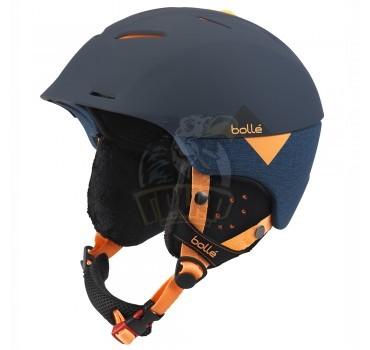 Шлем Bolle Synergy 314 Soft Navy & Orange