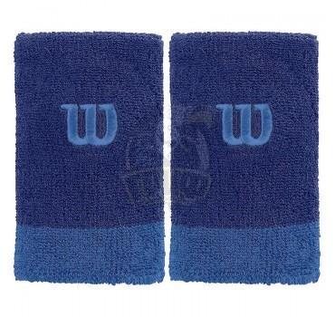 Напульсник Wilson Extra Wide Wristband (синий)