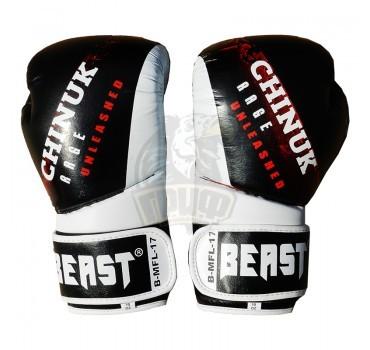 Перчатки для тайского бокса Beast Chinuk B3001 кожа