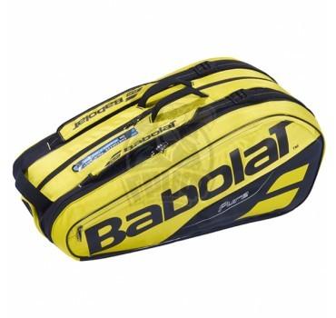 Чехол-сумка Babolat Pure Aero на 9 ракеток (желтый/черный)