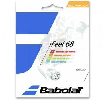 Струна бадминтонная Babolat iFeel 0.68/10.2 м (желтый)