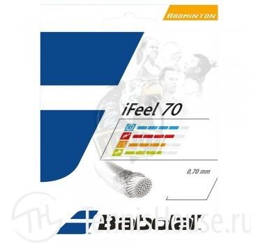 Струна бадминтонная Babolat iFeel 0.70/10.2 м (черный)