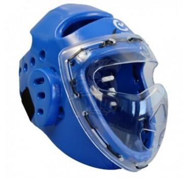 Шлем тхэквондо с защитной маской Wacoku WTF