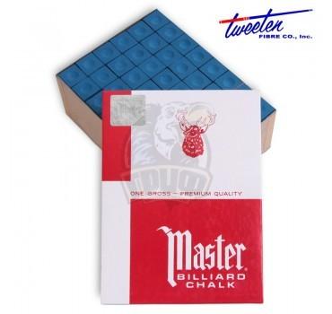 Мел для кия Master Blue (144 шт)