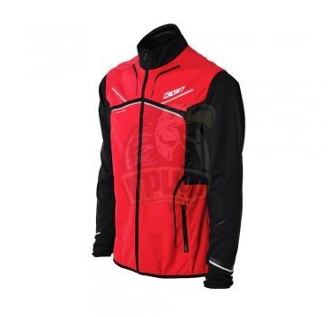 Куртка лыжная KV+ Davos (красный/черный)