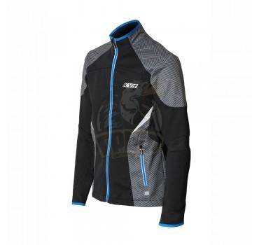 Куртка лыжная разминочная KV+ Lahti (чёрный)