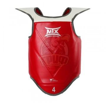Защита корпуса для единоборств WT Mooto MTX (синий/красный)