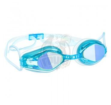 Очки для плавания тренировочные Mad Wave Automatic Mirror Racing II (синий)