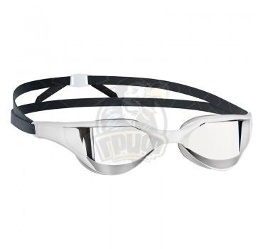 Очки для плавания тренировочные Mad Wave Razor Mirror (белый)