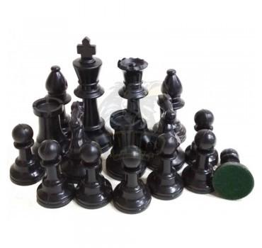 Фигуры шахматные пластиковые