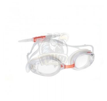 Очки для плавания тренировочные Mad Wave Envy Automatic Racing (белый)