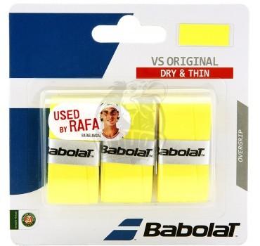 Обмотка для теннисной ракетки Babolat VS Grip Original (желтый)