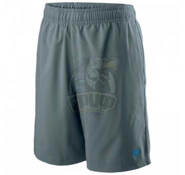 Шорты спортивные для мальчиков Wilson Team 7 Short Boy (серый)
