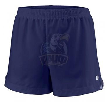 Шорты спортивные для девочек Wilson Team 3.5 Short Girl (синий)