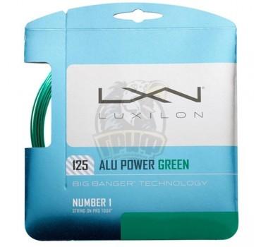 Струна теннисная Luxilon Alu Power Le 1.25/12.2 м (зеленый)