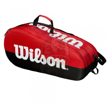 Чехол-сумка Wilson Team 2 на 6 ракеток (красный)
