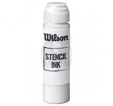 Маркер для разметки теннисной ракетки Wilson Stencil Ink (белый)