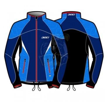 Куртка лыжная разминочная KV+ Lahti (синий)