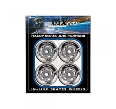 Колеса для роликовых коньков Maxcity 76*24 мм (без подшипников)