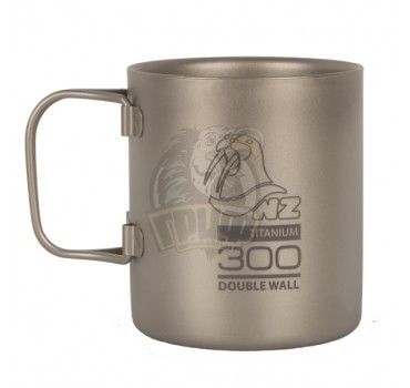 Термокружка NZ Titanium Double Wall Mug 300 мл
