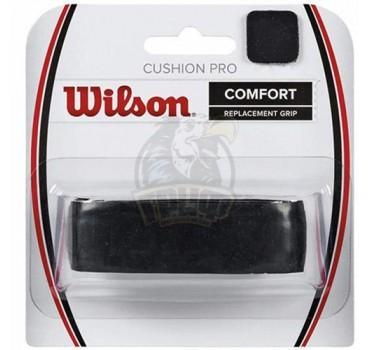Обмотка базовая для теннисной ракетки Wilson Cushion Pro (черный)
