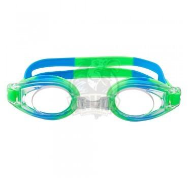 Очки для плавания детские Longsail Pure (зеленый/синий)