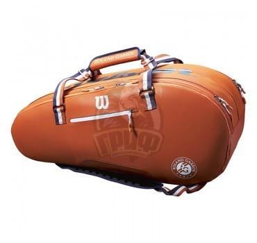 Чехол-сумка Wilson Roland Garros Tour на 12 ракеток (оранжевый)