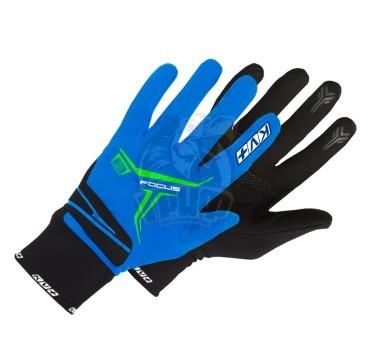 Перчатки лыжные KV+ XC Focus (синий/черный)