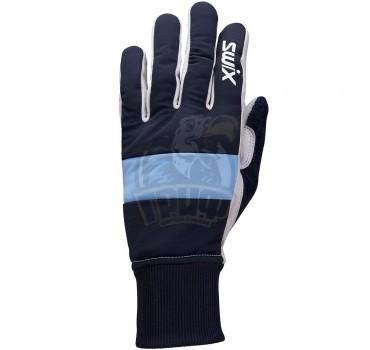 Перчатки лыжные женские Swix Cross (темно-синий)