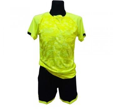 Форма футбольная детская (желтый/черный)