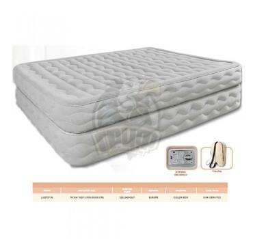 Кровать для сна надувная односпальная + электронасос Jilong