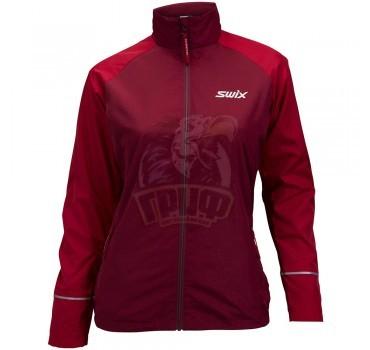 Куртка лыжная женская Swix Trails (красный)