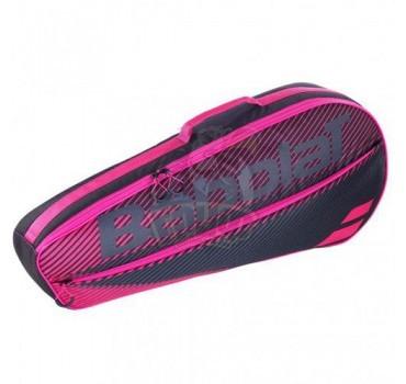 Чехол-сумка Babolat Club Essential на 3 ракетки (розовый)