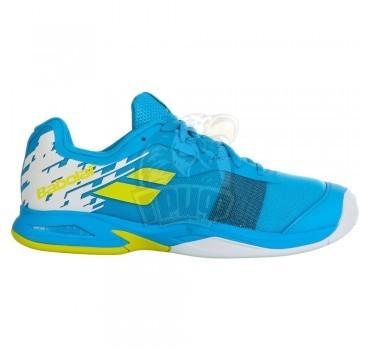 Кроссовки теннисные детские Babolat Jet AC Jr (голубой)
