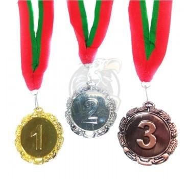 Медаль 6.0 см (бронза)