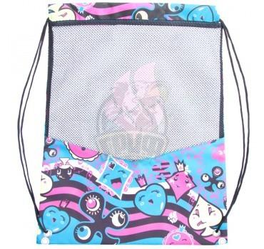 Рюкзак-мешок Mad Wave Dry Gym Bag (черный/синий)