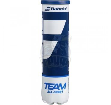 Мячи теннисные Babolat Team All Court (4 мяча в тубе)