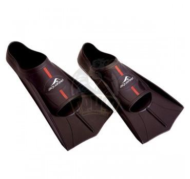 Ласты тренировочные укороченные AquaFeel (черный)