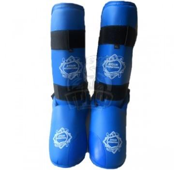 Защита голени и стопы Ayoun ПУ (синий)
