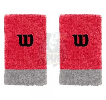 Напульсник Wilson Extra Wide Wristband (красный)