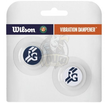 Виброгаситель Wilson Roland Garros Vibra Dampener (синий/белый)