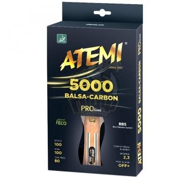 Ракетка для настольного тенниса Atemi 5000 Balsa-Carbon