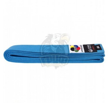 Пояс каратэ Tokaido WKF 100% хлопок (синий)