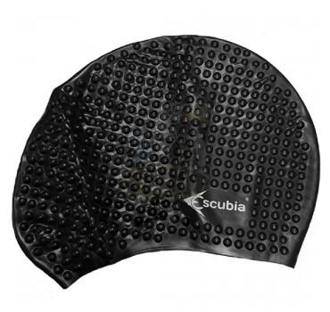 Шапочка для плавания Escubia Cuffia Bubble (черный)