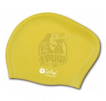 Шапочка для плавания для длинных волос Indigo (желтый)