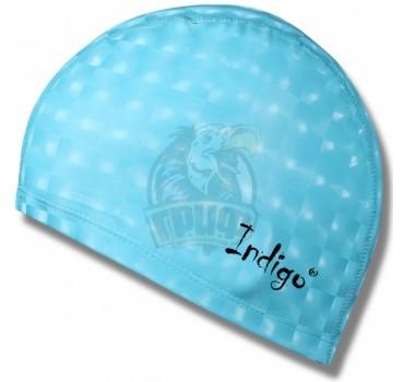 Шапочка для плавания Indigo (голубой)